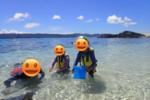 沖縄,離島,座間味,久志,家族旅行,シュノーケリング