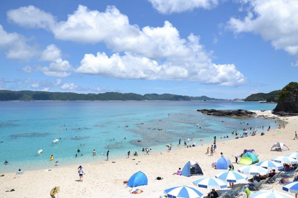 沖縄,離島,座間味,海,シュノーケリング,家族旅行,子連れ,古座間味,ビーチ
