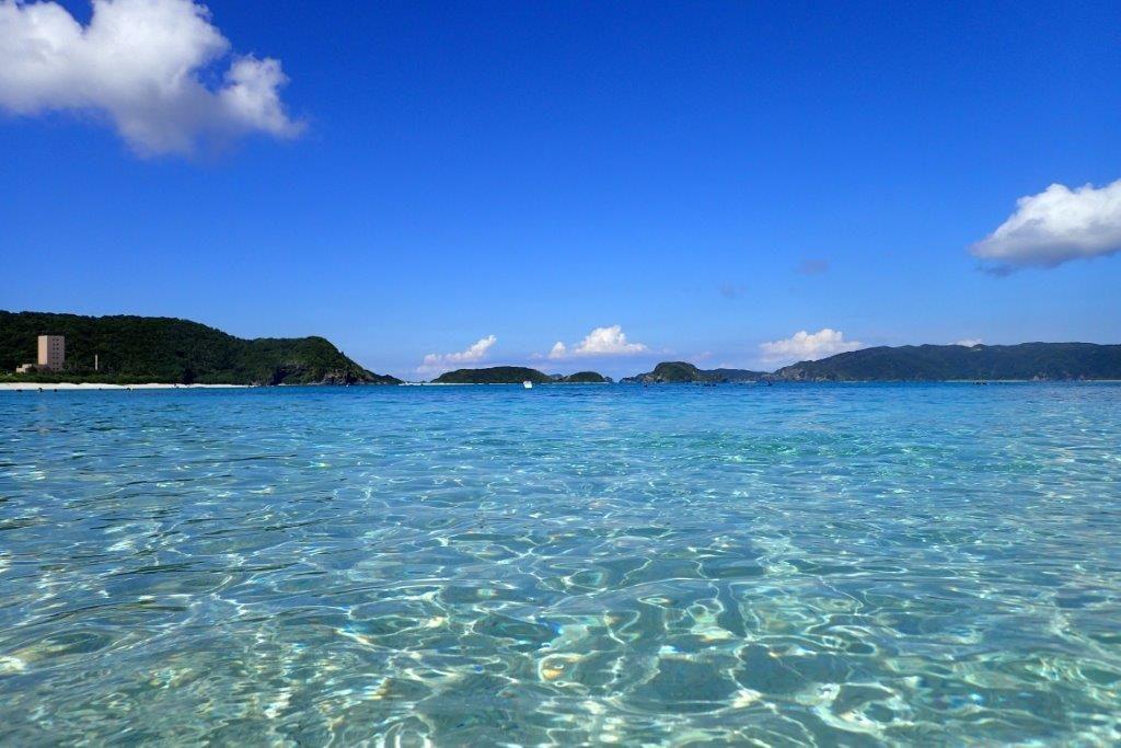 沖縄,離島,座間味,海,シュノーケリング,家族旅行,子連れ,阿真,ビーチ