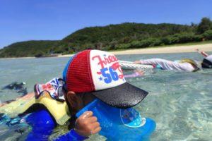沖縄,離島,座間味,海,シュノーケリング,家族旅行,子連れ