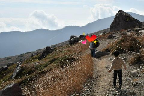 那須,那須岳,家族旅行,子連れ登山