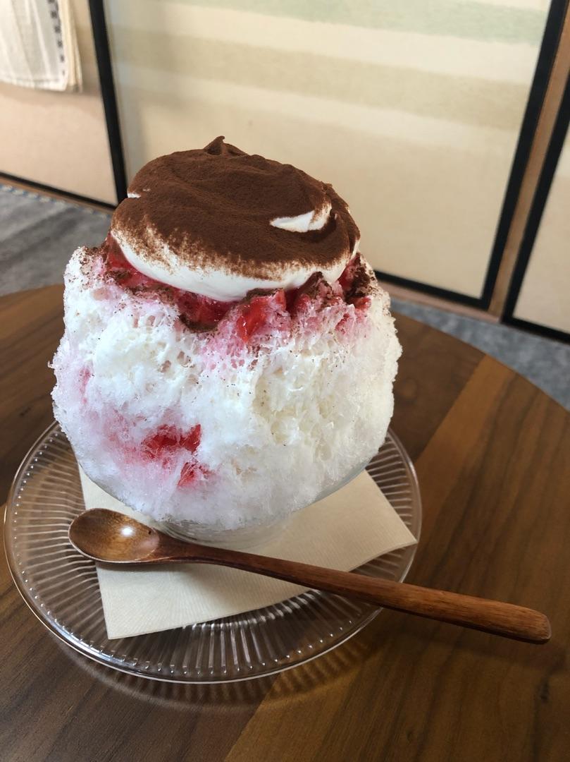 ひたちなかかき氷,ひたちなかカフェ,旬果,茨城カフェ